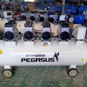 Máy nén khí không dầu Pegasus TM-OF1100*4_330L