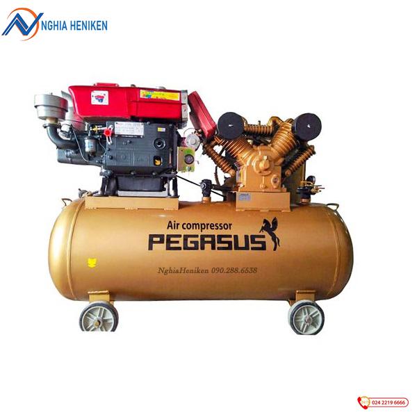 Máy nén khí chạy dầu Diesel Pegasus TM-W-1.0/8-330L