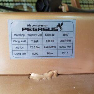 Thong So May Nen Khi Pegasus 500l 7.5hp